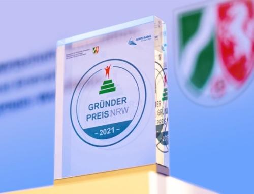 GRÜNDERPREIS NRW 2021: Bewerbungsphase gestartet
