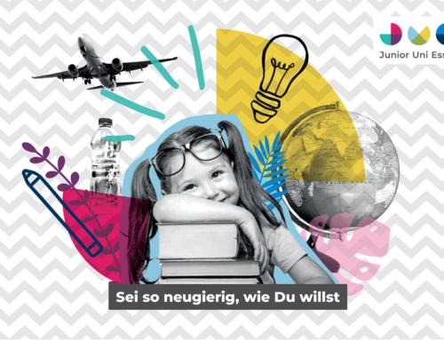"""""""Sei so neugierig, wie Du willst!"""": Neue Website informiert über Junior Uni Essen"""