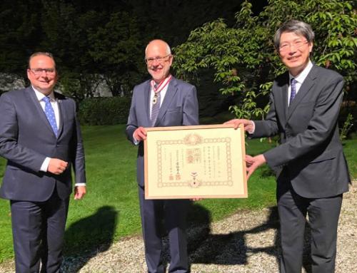 Professor Dr. Sauerwein erhält hohen japanischen Orden