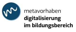 metavorhaben digitalisierung im bildungsbereich