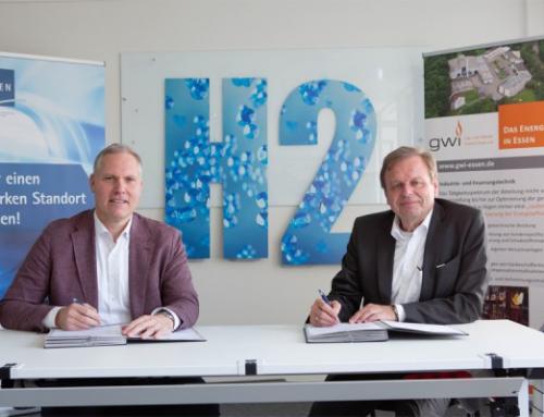 Verbundprojekt von EWG und GWI wird Wasserstoff-Projekten Essener Unternehmen unterstützen