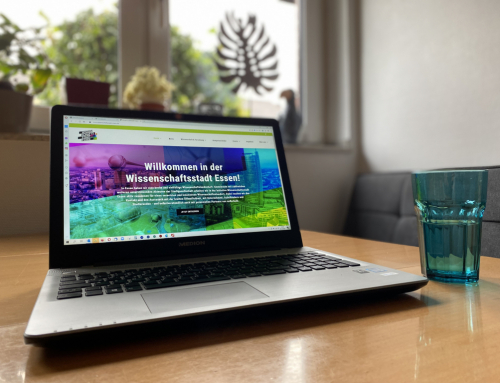 Neuer Internet-Auftritt der Initiative Wissenschaftsstadt Essen